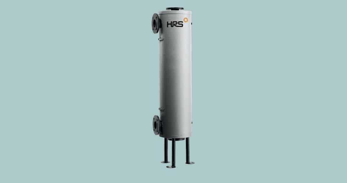 HRS Hevac Aquacoil Shell & Tube Heat Exchangers