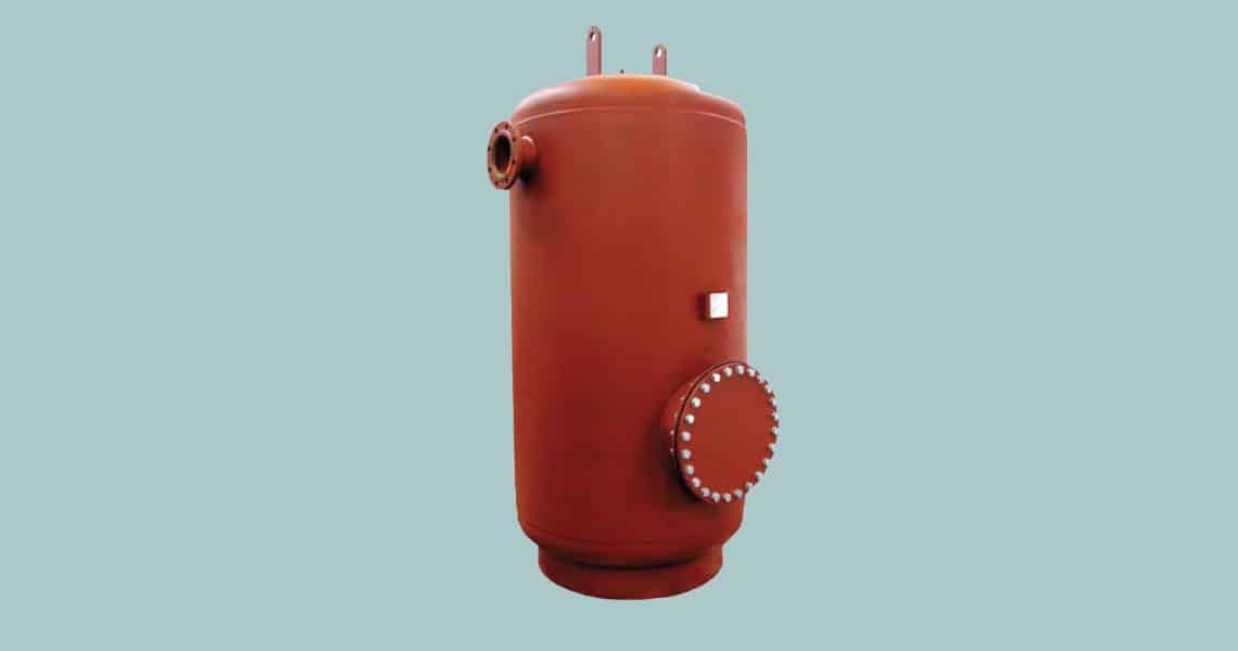 HRS Hevac AquaPIV Steel Buffer Vessel for Chilled & Heating Systems