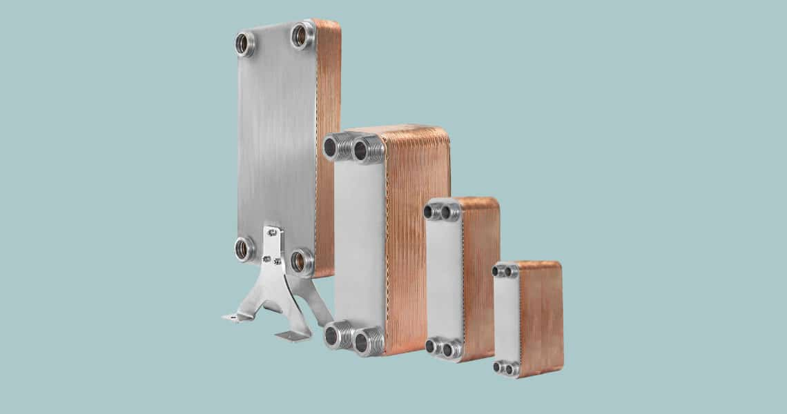 HRS Hevac Brazed Plate Heat exchanger (BPHE)