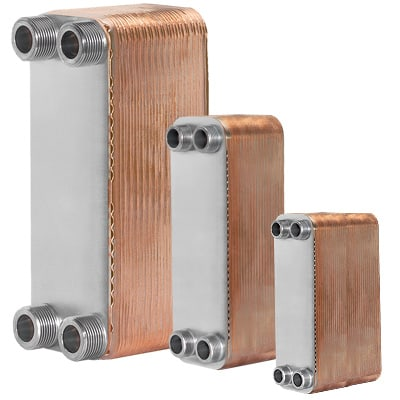 HRS Hevac Brazed Plate Heat exchangers (BPHE)